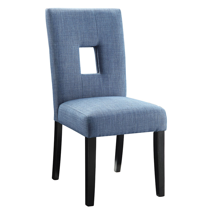 Alyssa Modern Dining Chair in Blue