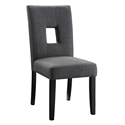 Alyssa Modern Dining Chair in Gray