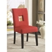 Alyssa Red Contemporary Dining Chair