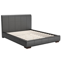 Amelie Modern Platform Bed in Black by Zuo
