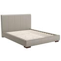 Amelie Modern Gray Platform Bed by Zuo