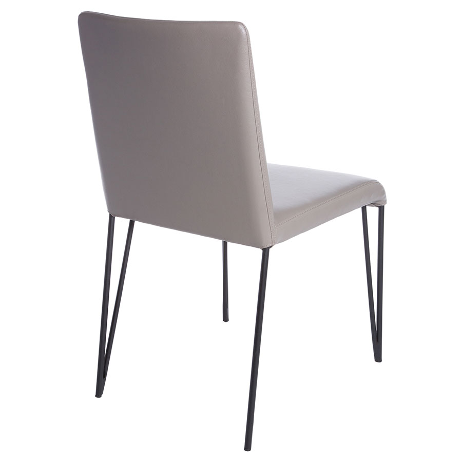 Modern Dining Chairs | Amir Taupe Side Chair | Eurway