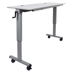 Anaheim 60 Inch Modern Adjustable Height Desk