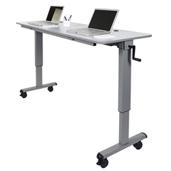 Anaheim 72 Inch Modern Adjustable Height Desk