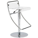 Angelita Modern Clear Stool