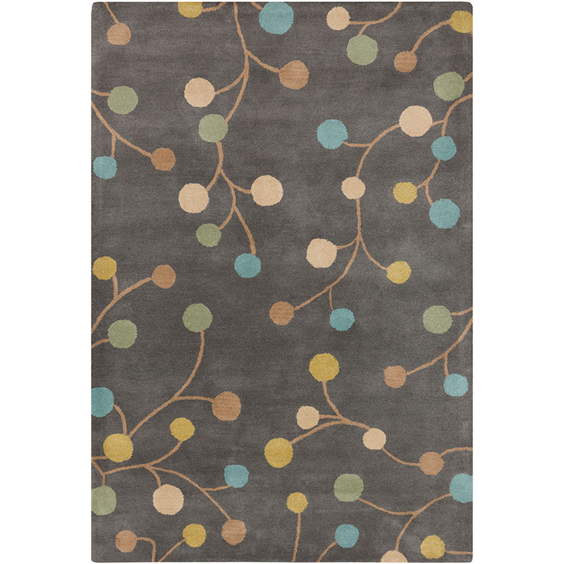 Andrea Modern Area Rug in Gray