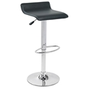 Andrew Adjustable Black Modern Bar Stools
