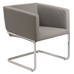 Ari Modern Gray Lounge Chair