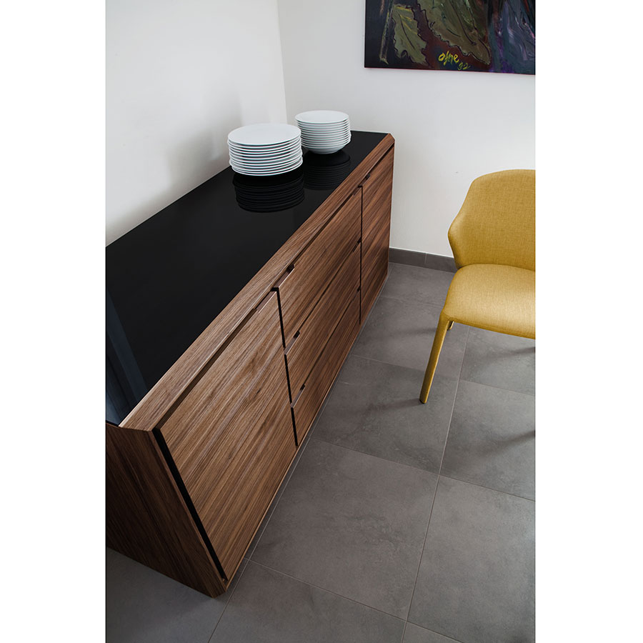 Arden Canaletto Walnut Contemporary Sideboard