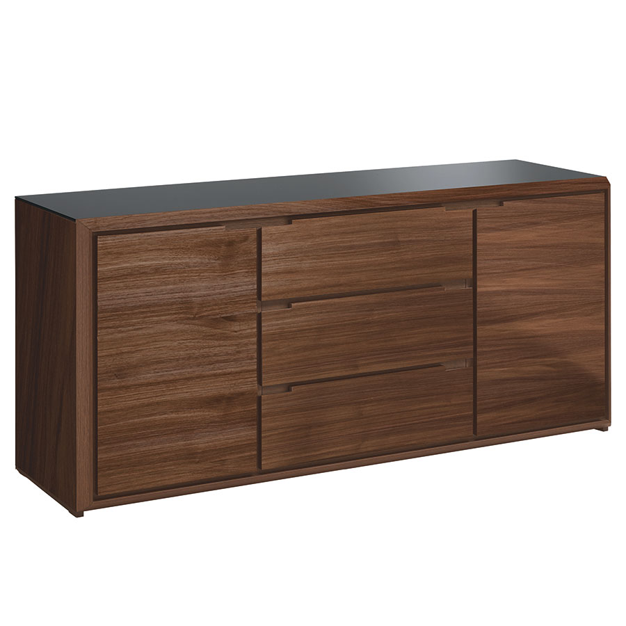 arden walnut modern sideboard eurway furniture. Black Bedroom Furniture Sets. Home Design Ideas