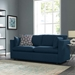 Armand Modern Azure Blue Sofa