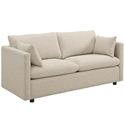 Armand Contemporary Beige Sofa