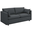 Armand Contemporary Gray Sofa