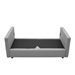 Armand Modern Light Gray Sofa Assembly Step 2