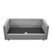 Armand Modern Light Gray Sofa Assembly Step 3
