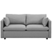 Armand Modern Light Gray Sofa Assembly Step 5