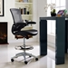 Armstrong Contemporary Black Drafting Stool