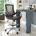 Armstrong Contemporary Brown Drafting Stool