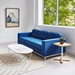 Gus* Modern Array White Oval Coffee Table