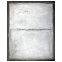 Artemis Silver Modern Canvas Gallery Wrap Wall Art