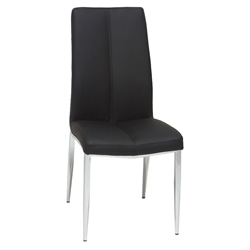 Arturo Modern Black Dining Side Chair