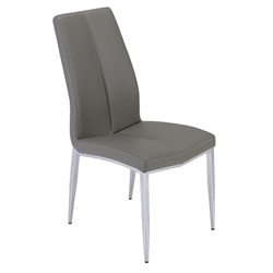Arturo Modern Gray Dining Side Chair