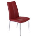 Arturo Modern Red Dining Side Chair
