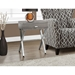 Astoria Modern Dark Taupe Side Table