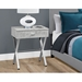 Astoria Modern Gray Cement Nightstand