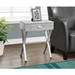 Astoria Modern Gray Cement Side Table