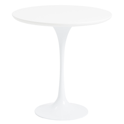 Astrid White Modern Side Table