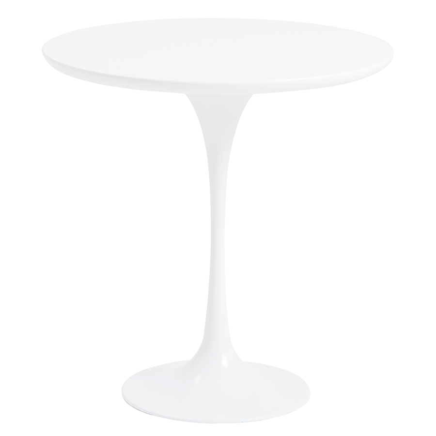 astrid white modern side table  eurway furniture - astrid white modern side table