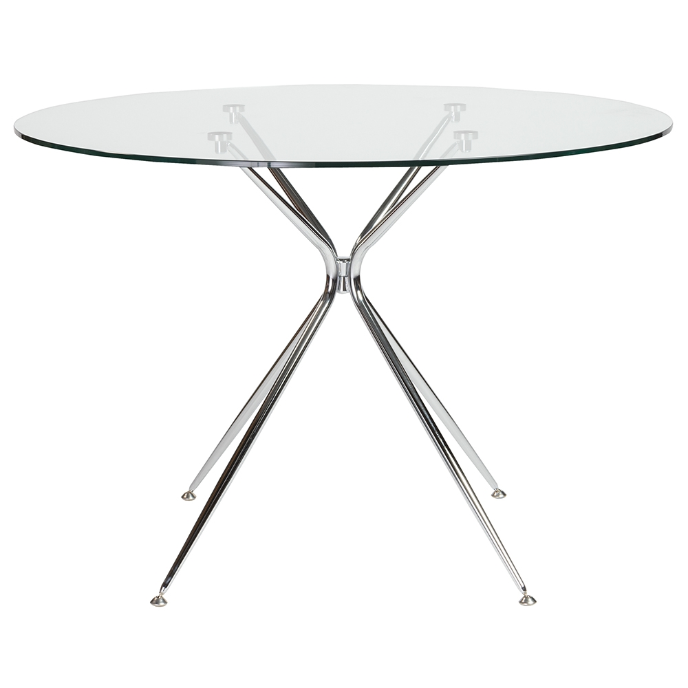 Atos 48 In Round Dining Table By Euro Style Eurway