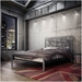 Attraction Contemporary Metal Bed