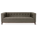Gus* Modern Atwood Sofa in Bayview Osprey Fabric with Walnut Wood Base