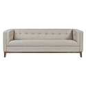 Atwood Contemporary Sofa in Leaside Driftwood by Gus* Modern