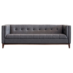 Atwood Contemporary Sofa in Totem Storm