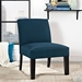 Austin Azure Modern Lounge Chair Lifestyle
