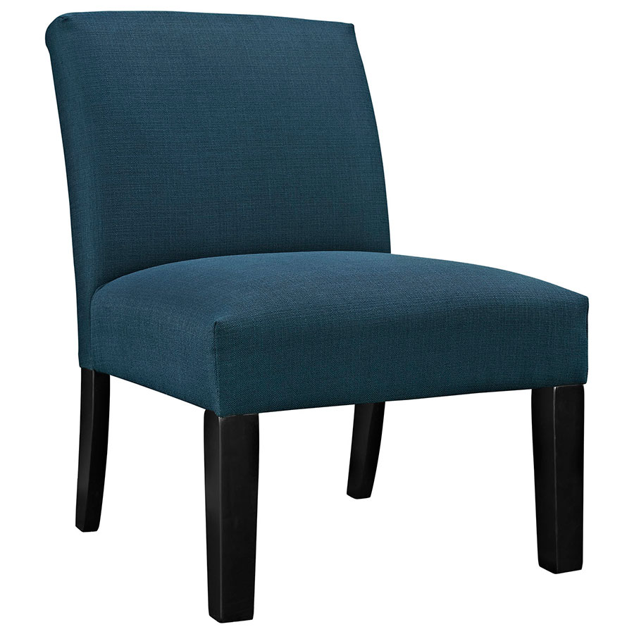 Austin Azure Modern Lounge Chair