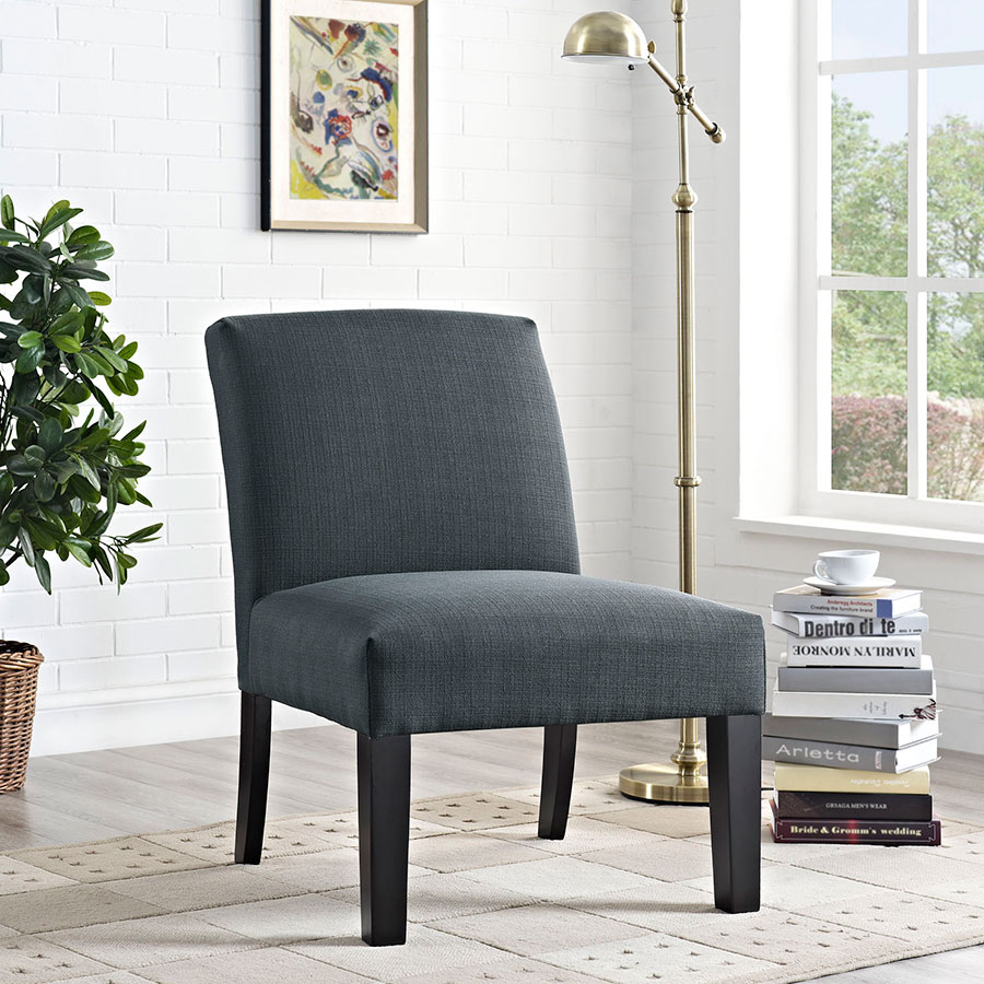 Free Furniture Austin: Austin Modern Gray Lounge Chair