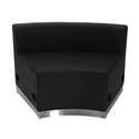 Avalon Modern Modular Concave Chair in Black