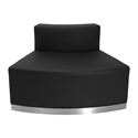 Avalon Modern Modular Convex Chair in Black