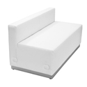 Avalon Modern Modular Loveseat in White