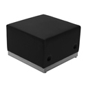 Avalon Modern Modular Ottoman in Black