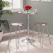 Avenue Industrial Stainless Steel Counter Stools