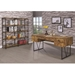 Avilla Contemporary Office Furniture in Antique Nutmeg