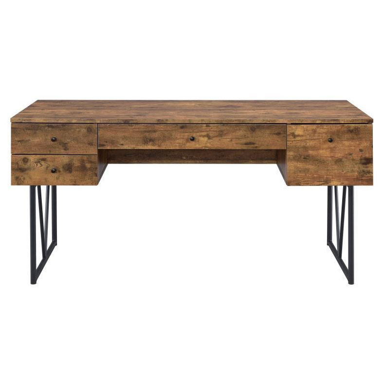Avilla Modern Desk in Antique Nutmeg