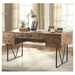 Avilla Contemporary Antique Nutmeg Writing Desk