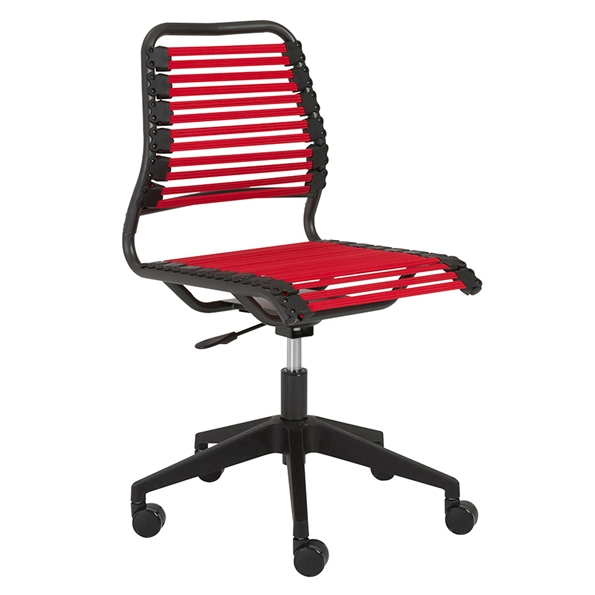 Baba Red Modern Office Chair