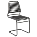 Bennet Black Modern Visitor Chair